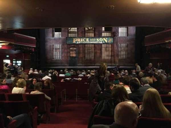 Adelphi Theatre, vak: Stalls, rij: S, stoel: 18