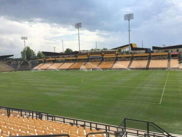 Fifth Third Bank Stadium, vak: 131, rij: R, stoel: 4