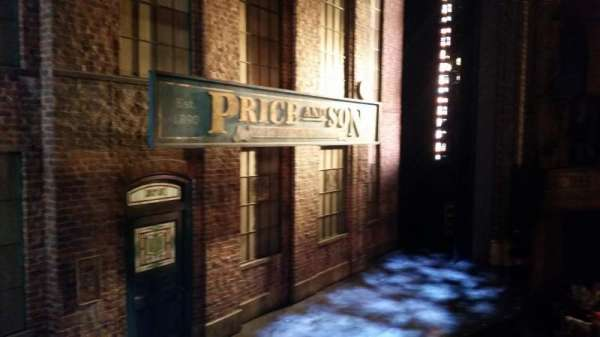 Al Hirschfeld Theatre, vak: Left Box, rij: A, stoel: 3