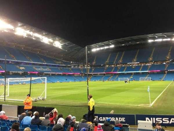 Etihad Stadium (Manchester), vak: 134, rij: G, stoel: 932