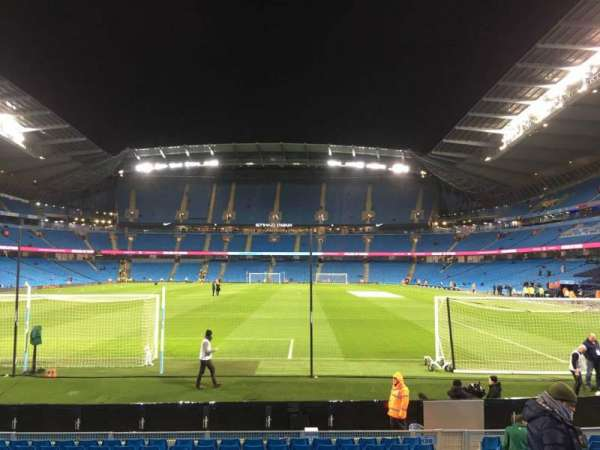 Etihad Stadium (Manchester), vak: 136, rij: N, stoel: 1000