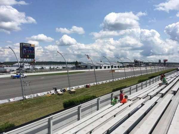 Pocono Raceway, vak: 141, rij: 8, stoel: 14