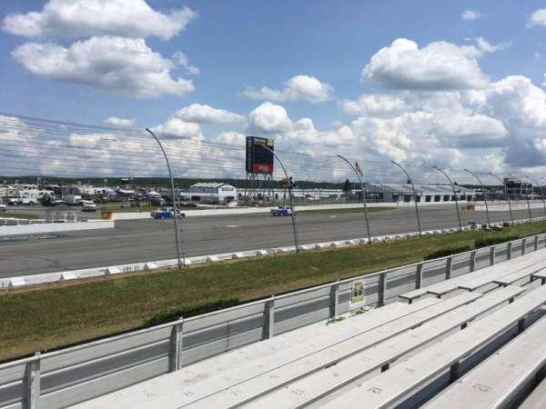 Pocono Raceway, vak: 143, rij: 9, stoel: 13