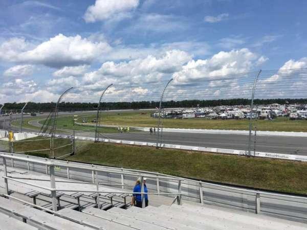 Pocono Raceway, vak: 145, rij: 13, stoel: 6