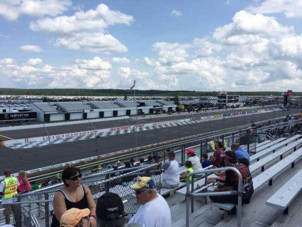 Pocono Raceway, vak: 243, rij: 29, stoel: 6
