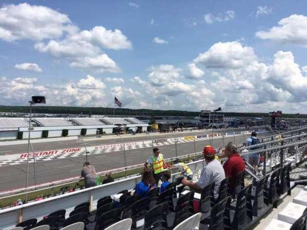 Pocono Raceway, vak: 241, rij: 25, stoel: 9