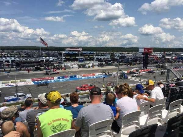 Pocono Raceway, vak: 229, rij: 33, stoel: 15