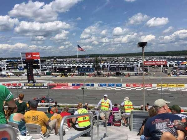 Pocono Raceway, vak: 220, rij: 25, stoel: 1