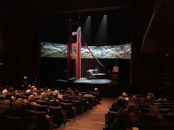 Suzanne Roberts Theatre, vak: Orch R, rij: M, stoel: 5
