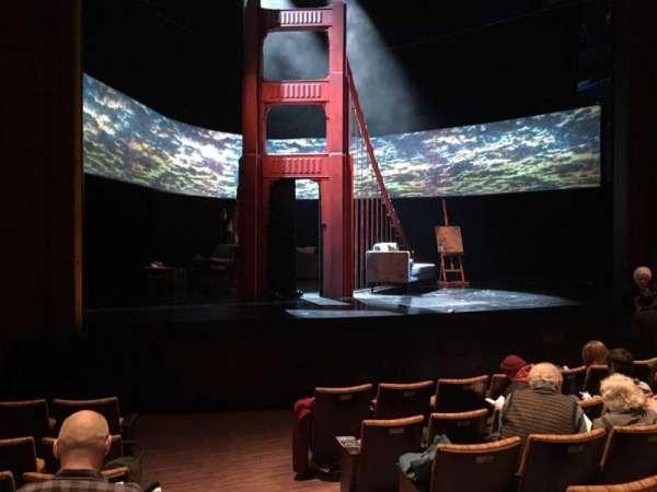 Suzanne Roberts Theatre, vak: Orchl, rij: H, stoel: 17