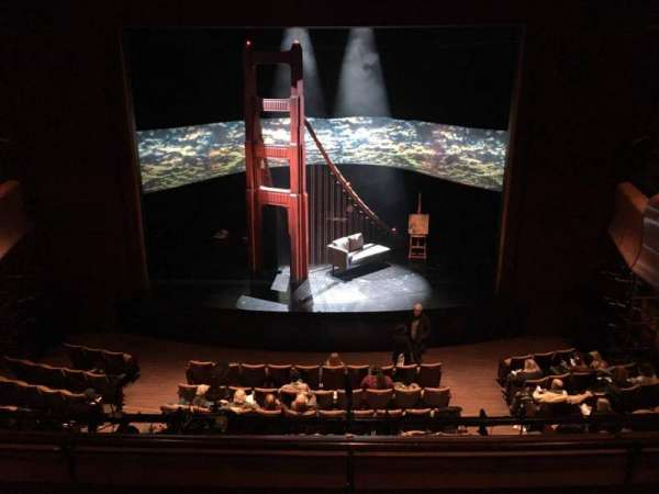 Suzanne Roberts Theatre, vak: Mezz, rij: C, stoel: 9