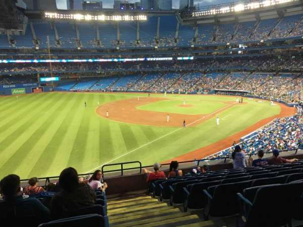 Rogers Centre, vak: 236L, rij: 9, stoel: 101