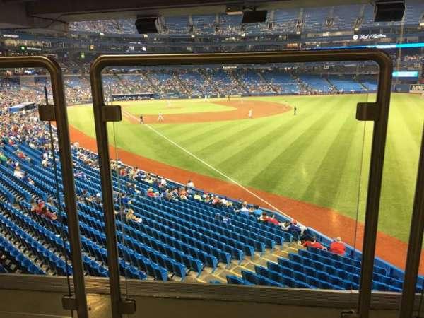 Rogers Centre, vak: 109L, rij: Wl, stoel: A106