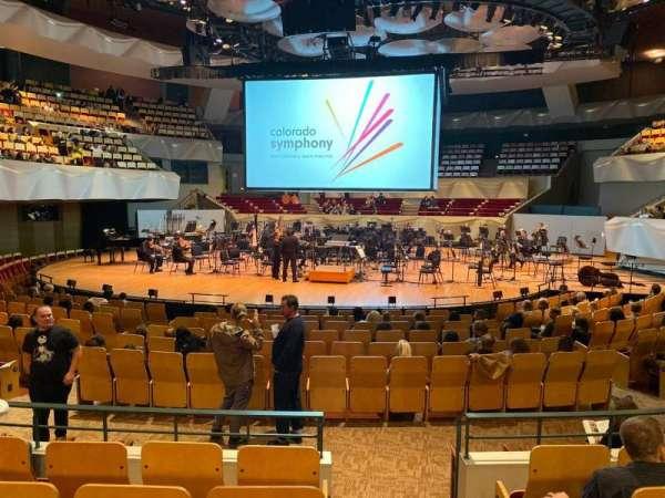 Boettcher Concert Hall, vak: Orch 2, rij: N, stoel: 51