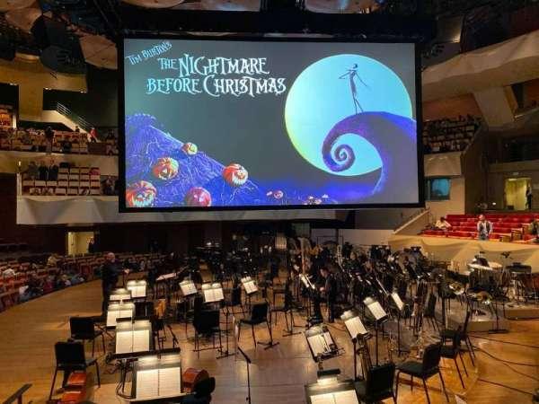 Boettcher Concert Hall, vak: Dress Circle1, rij: 1, stoel: 31