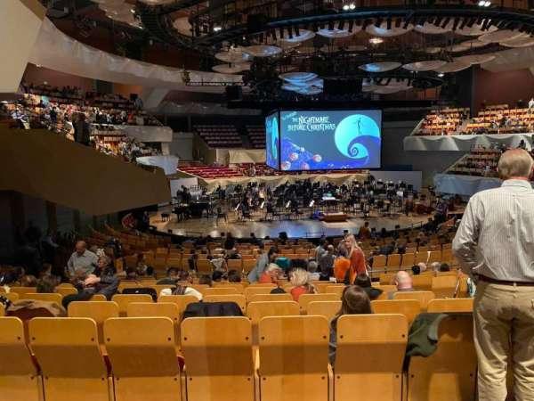 Boettcher Concert Hall, vak: Orch 3, rij: S, stoel: 28