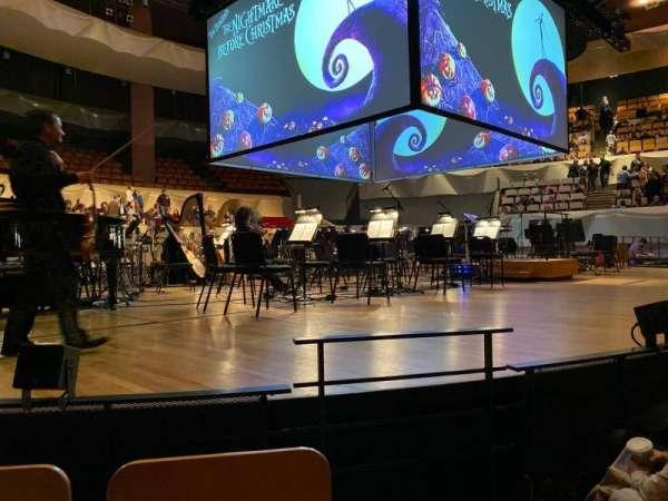 Boettcher Concert Hall, vak: Orch 1, rij: E, stoel: 19