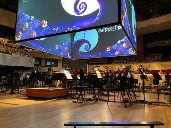 Boettcher Concert Hall, vak: Orch 1, rij: D, stoel: 50