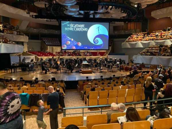 Boettcher Concert Hall, vak: Orch 2, rij: N, stoel: 40