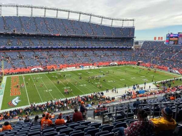 Empower Field at Mile High Stadium, vak: 314, rij: 16, stoel: 7