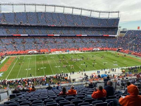 Empower Field at Mile High Stadium, vak: 312, rij: 16, stoel: 10