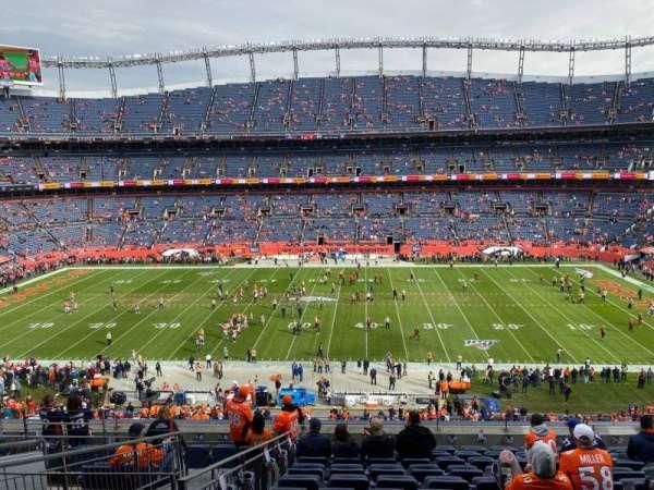 Empower Field at Mile High Stadium, vak: 308, rij: 12, stoel: 12