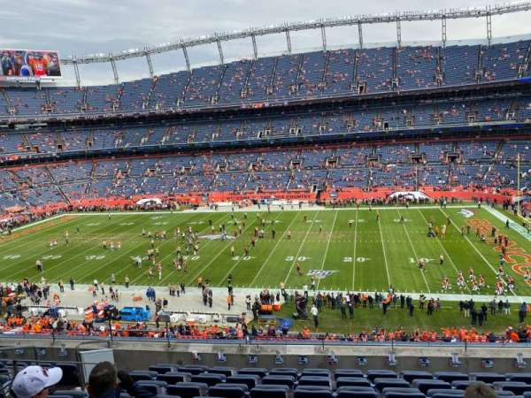 Empower Field at Mile High Stadium, vak: 306, rij: 9, stoel: 7