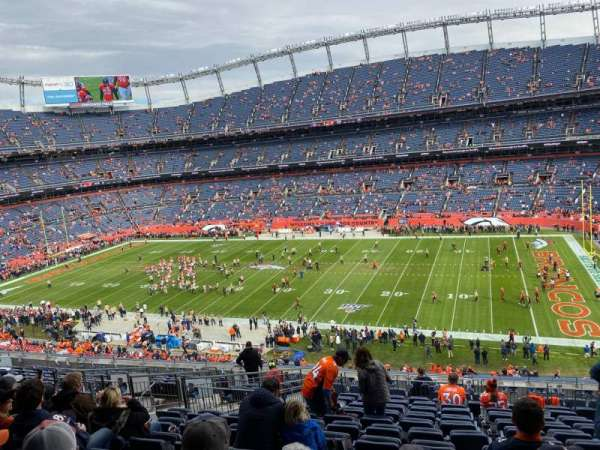 Empower Field at Mile High Stadium, vak: 305, rij: 15, stoel: 7
