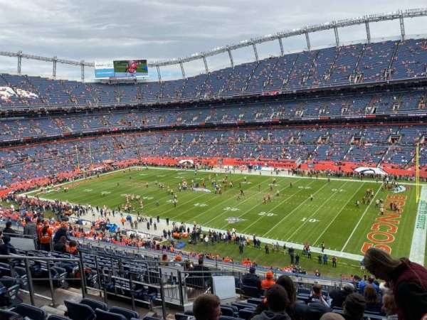 Empower Field at Mile High Stadium, vak: 303, rij: 15, stoel: 11