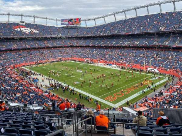 Empower Field at Mile High Stadium, vak: 300, rij: 16, stoel: 8