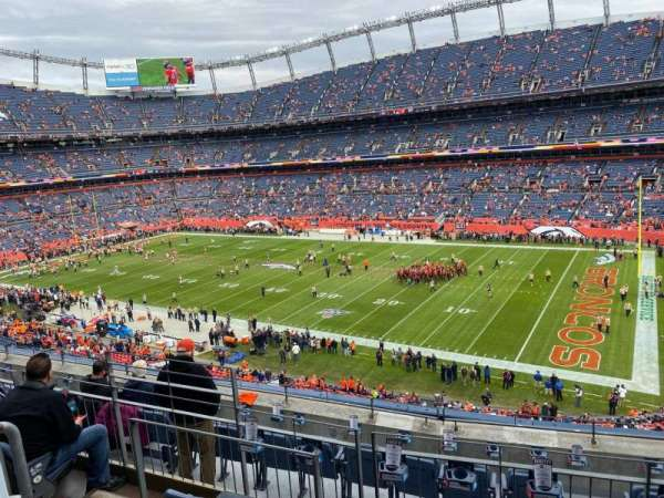 Empower Field at Mile High Stadium, vak: 303, rij: 7, stoel: 10