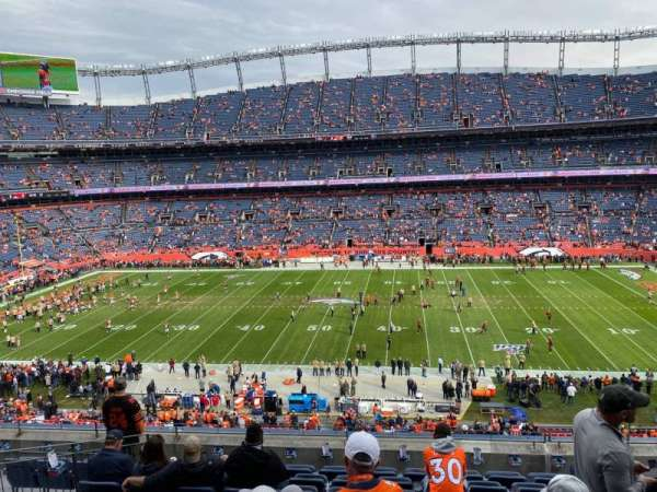 Empower Field at Mile High Stadium, vak: 308, rij: 9, stoel: 5