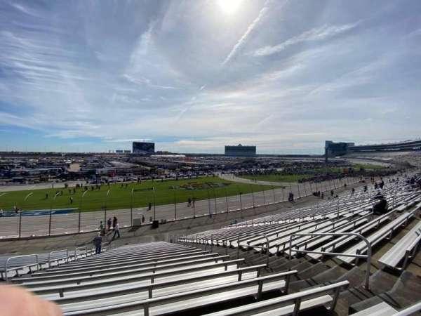 Texas Motor Speedway, vak: 414, rij: 27, stoel: 9