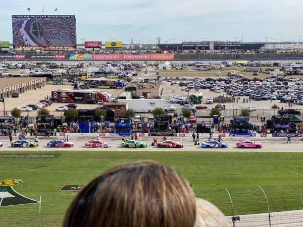 Texas Motor Speedway, vak: 113, rij: 43, stoel: 16