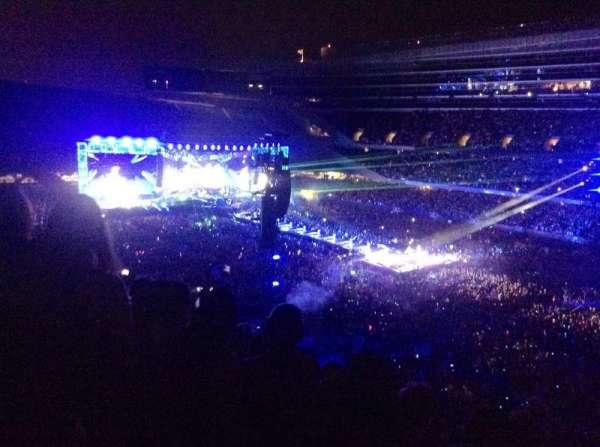 Soldier Field, vak: 332, rij: 11, stoel: 8