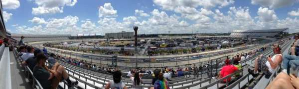 Dover International Speedway, vak: 249, rij: 42, stoel: 17
