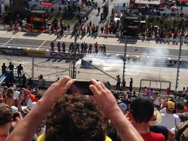 Dover International Speedway, vak: 251, rij: 46, stoel: 6