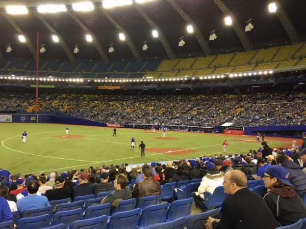 Olympic Stadium, Montreal, vak: 120, rij: SS, stoel: 6