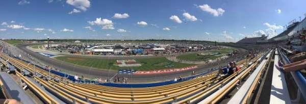 Kentucky Speedway, vak: 4L, rij: 27, stoel: 15
