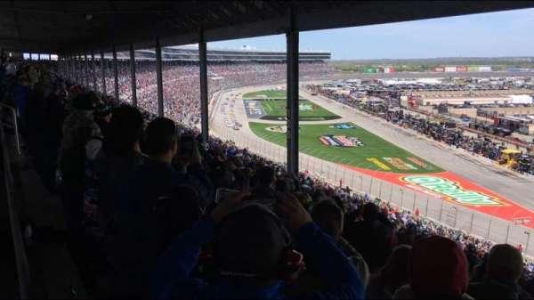 Texas Motor Speedway, vak: PU131, rij: 62, stoel: 2