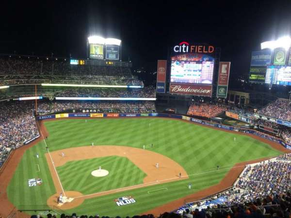 Citi Field, vak: 510, rij: 14, stoel: 8
