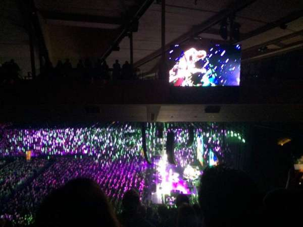 Madison Square Garden, vak: 213, rij: 19, stoel: 1