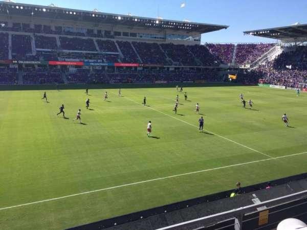 Orlando City Stadium, vak: 135, rij: 2, stoel: 22