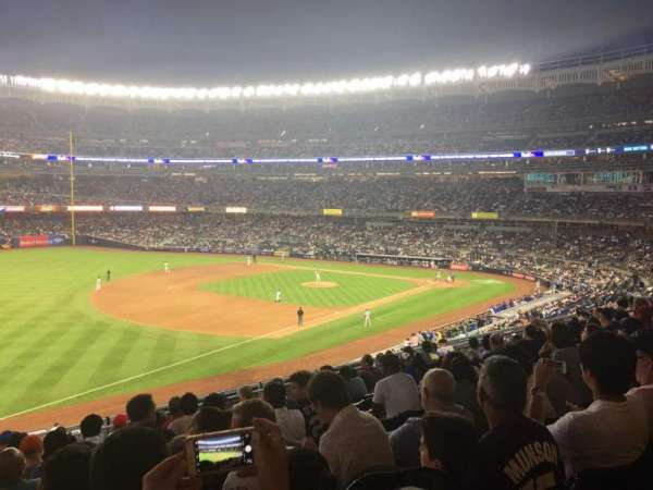 Yankee Stadium, vak: 229, rij: 10, stoel: 5