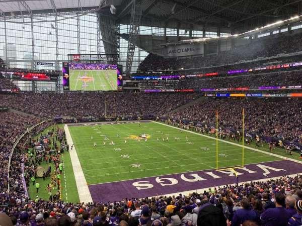 U.S. Bank Stadium, vak: 122, rij: 37, stoel: 5