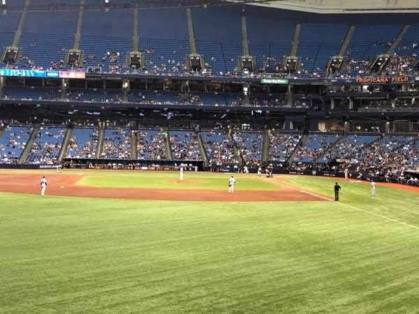 Tropicana Field, vak: 143, rij: AA, stoel: 18
