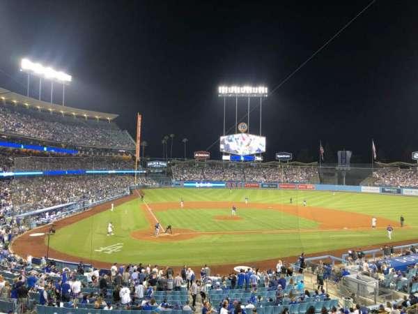 Dodger Stadium, vak: 116LG, rij: D, stoel: 5