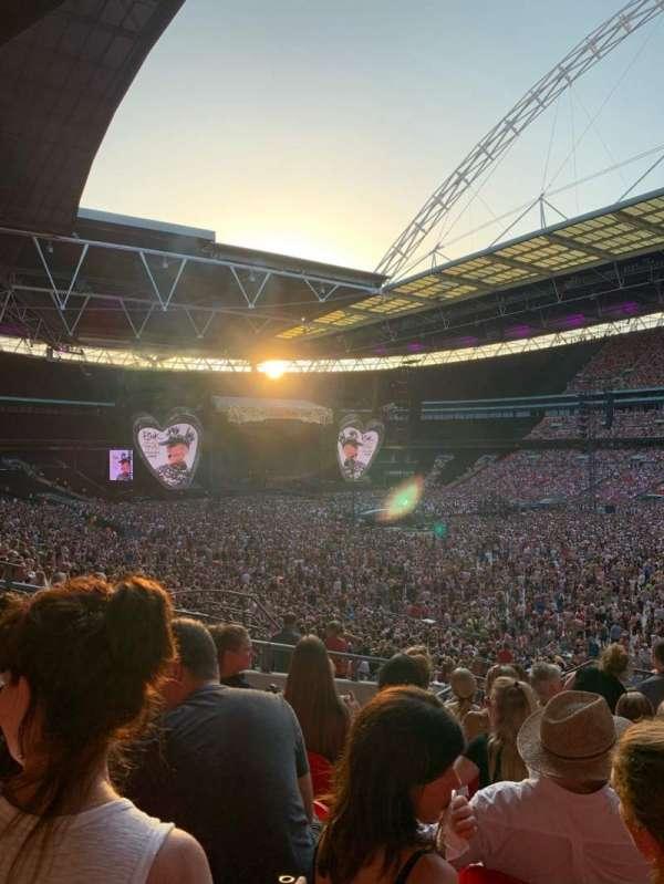 Wembley Stadium, vak: 118, rij: 40, stoel: 178