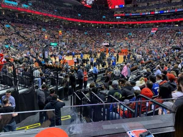 Scotiabank Arena, vak: 122, rij: 9, stoel: 6