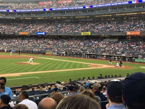 Yankee Stadium, vak: 126, rij: 10, stoel: 5